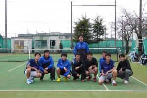 硬式テニス1年