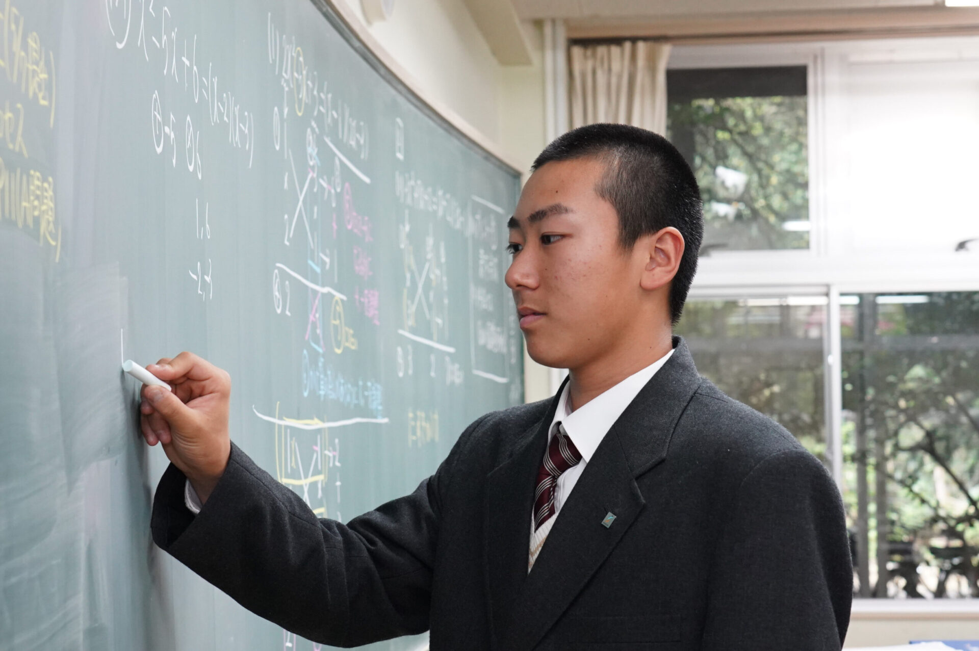 2時限目「数学」